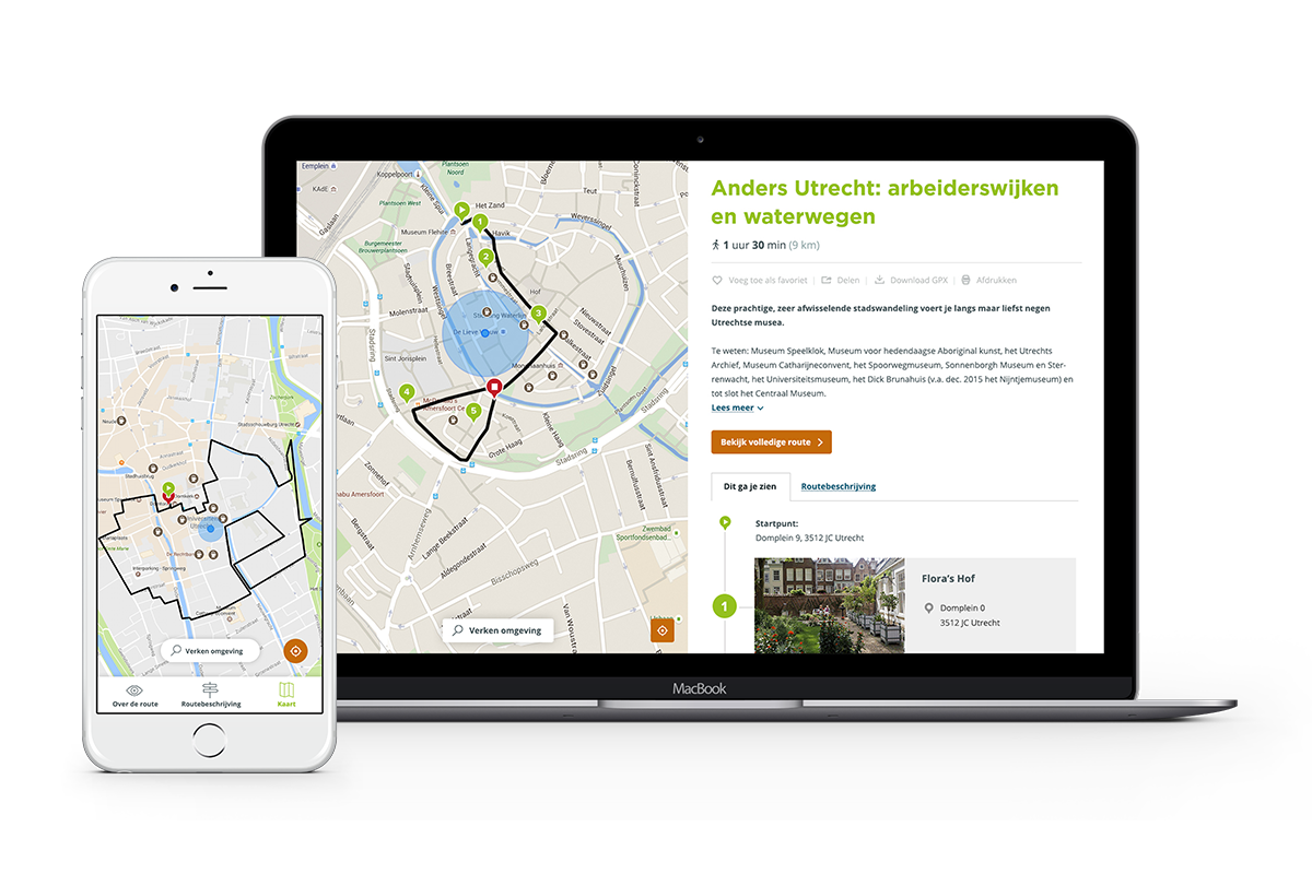 NIEUW: Mobile First Routemodule